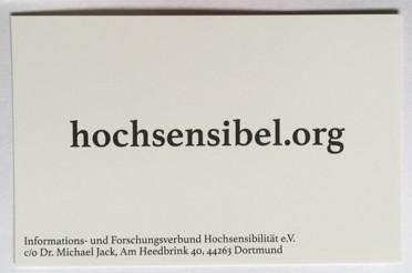 Hier sollte ein Bild der IFHS-Visitenkarte stehen